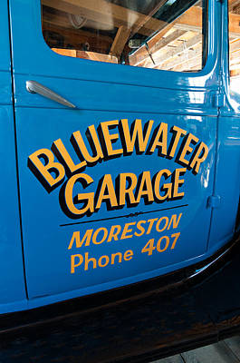 Blue Water Garage - Model T Truck Poster by Steve Harrington
