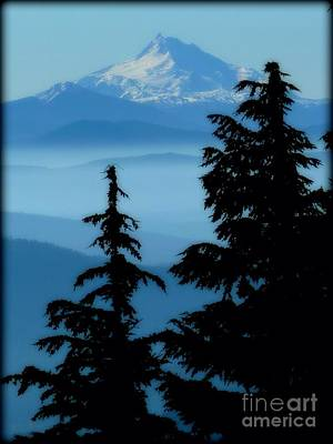 Blue Yonder Mountain Poster