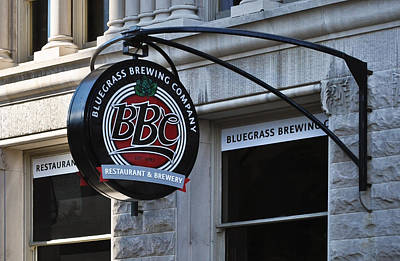 Poster featuring the photograph Bluegrass Brewing Company by Greg Jackson