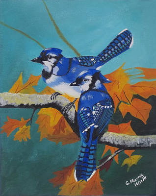 Blues Hangout Poster