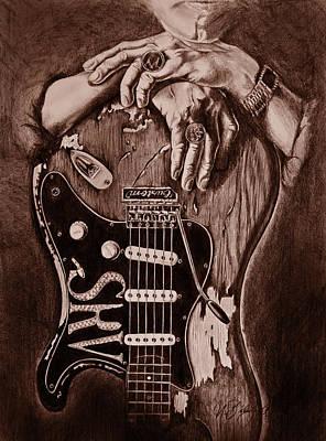 Blues Legend Poster by Art Imago