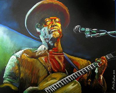Blues Man Poster