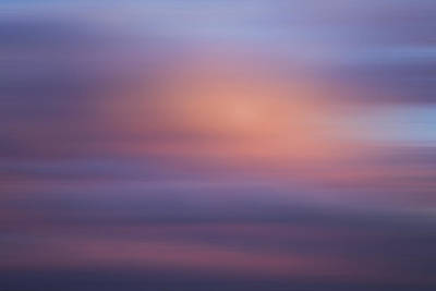 Poster featuring the photograph Blurred Sky 4 by John  Bartosik