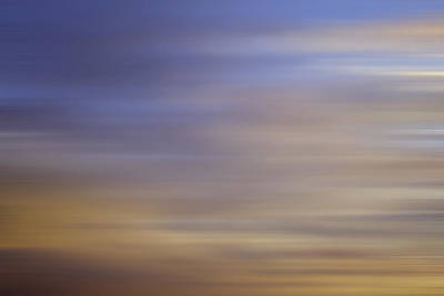 Poster featuring the photograph Blurred Sky3 by John  Bartosik