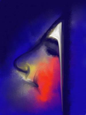Blushing Poster by Franck Giraud