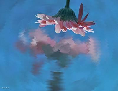 Blushing Pink Bloom Poster