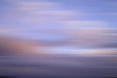 Poster featuring the photograph Bluured Sky 5 by John  Bartosik