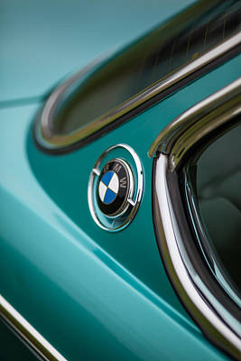 Bmw 3.0 Cs Curves Poster by Mike Reid