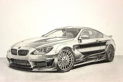 Bmw M6 Poster
