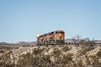 Bnsf 6561 Poster by Jim Thompson