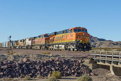 Bnsf 7649 Poster