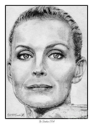 Bo Derek In 1994 Poster by J McCombie
