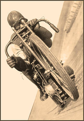 Board Track Racer Poster