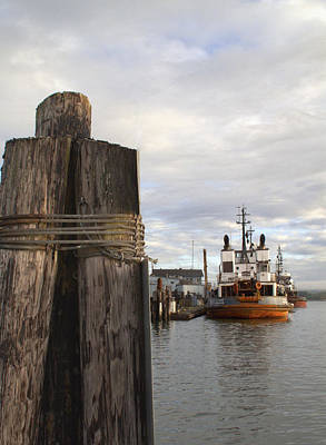 View From The Pilings Poster by Suzy Piatt