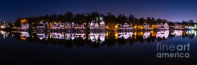 Boathouse Row  Poster by Abe Pacana