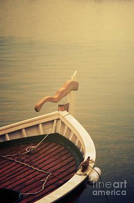 Boat Poster by Jelena Jovanovic