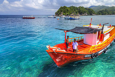 Boat Ride Poster by Mario Legaspi