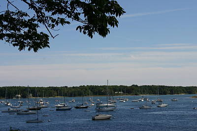 Poster featuring the photograph Boats At Rest by Denyse Duhaime