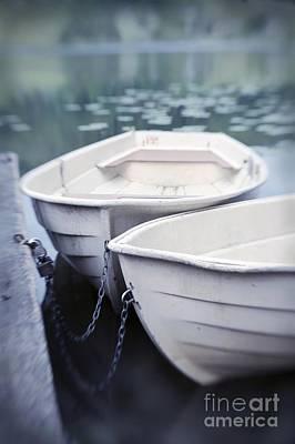 Boats Poster by Priska Wettstein