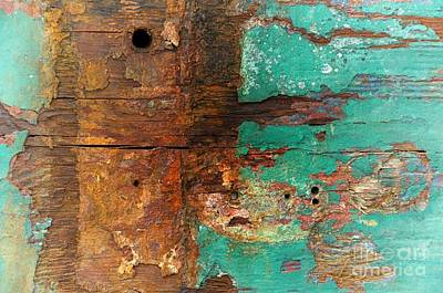 Boatyard Abstract 6 Poster by Newel Hunter