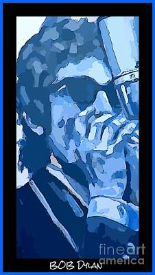 Bob Dylan Poster Poster