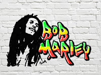 Bob Marley Graffiti 2 Poster