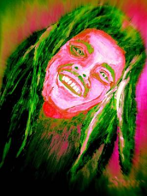 Bob Marley  Image Enhanced Poster