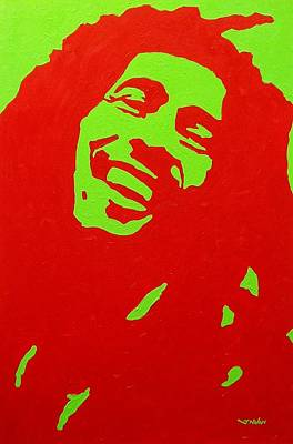 Bob Marley Poster by John  Nolan