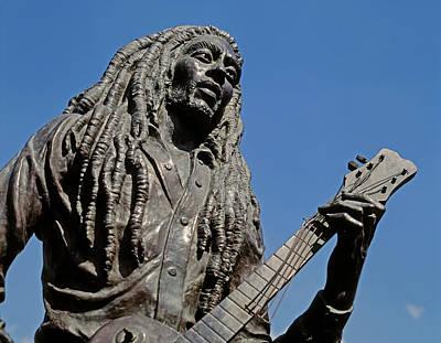 Bob Marley Statue, Jamaica Poster by Ken Welsh