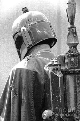 Boba Fett Costume 3 Poster by Micah May