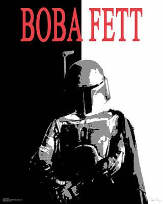 Boba Fett- Gangster Poster