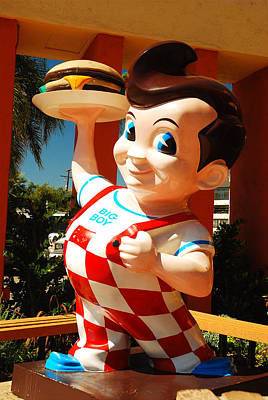 Bob's Big Boy Poster by James Kirkikis