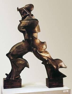 Boccioni, Umberto 1882-1916. Unique Poster