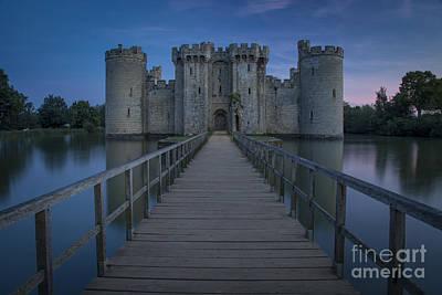Bodiam Castle - Night Poster