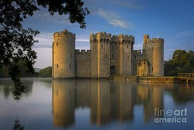 Bodiam Castle Dawn Poster