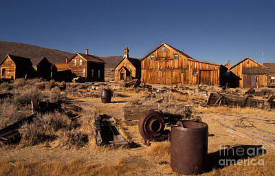 Bodie, California, A Ghost Town Poster