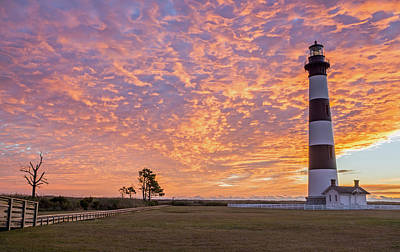 Bodie Island Lighthouse At Sunrise Poster