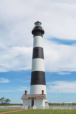 Bodie Island Lighthouse - Outer Banks Poster by Kay Pickens