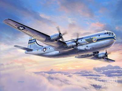 Boeing Yc-97a Stratofreighter Poster by Stu Shepherd