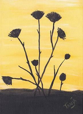 Bog Flower Bouquet Poster