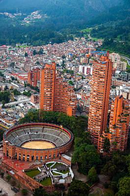 Bogota View Poster