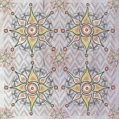 Boho Tile IIi Poster by Shanni Welsh