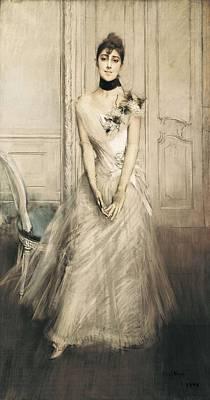 Boldini, Giovanni 1842-1931. Portrait Poster by Everett