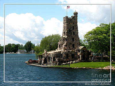 Boldt Castle Alster Tower Playhouse Poster by Rose Santuci-Sofranko
