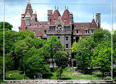 Boldt Castle Poster by Rose Santuci-Sofranko