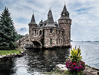 Boldt's Castle Tower Poster by Debbie Green