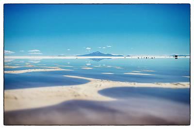 Bolivia Salt Flats Framed Poster
