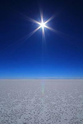 Bolivian Salt Poster by FireFlux Studios