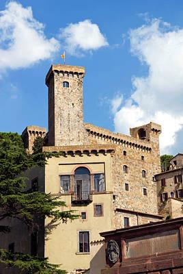 Bolsena Castle (rocca Monaldeschi Poster by Nico Tondini