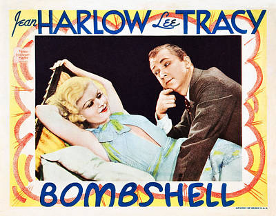 Bombshell, From Left Jean Harlow, Lee Poster
